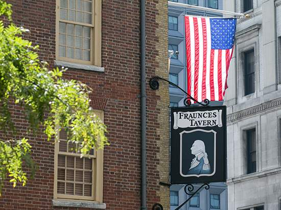 Fraunces Tavern on Pearl Street