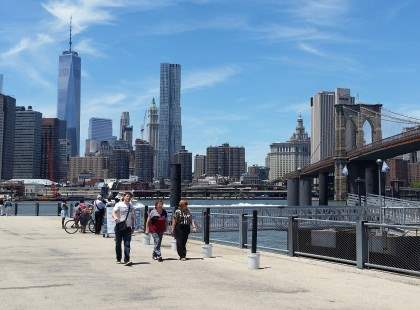 Views from Brooklyn Bridge Park