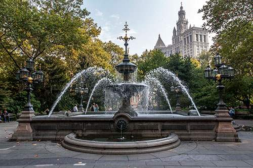 City Hall Park Fountain