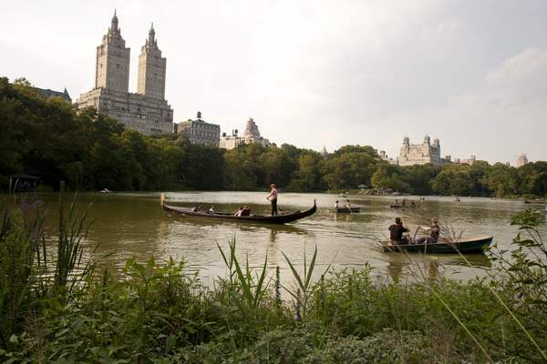 The Lake in Central Park