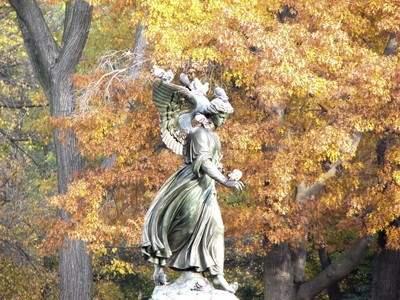 Angel in the Waters in Bethesda Terrace