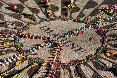 John Lennon Imagine Memorial