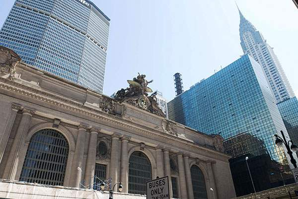 Grand Central Terminal and Chrysler Building