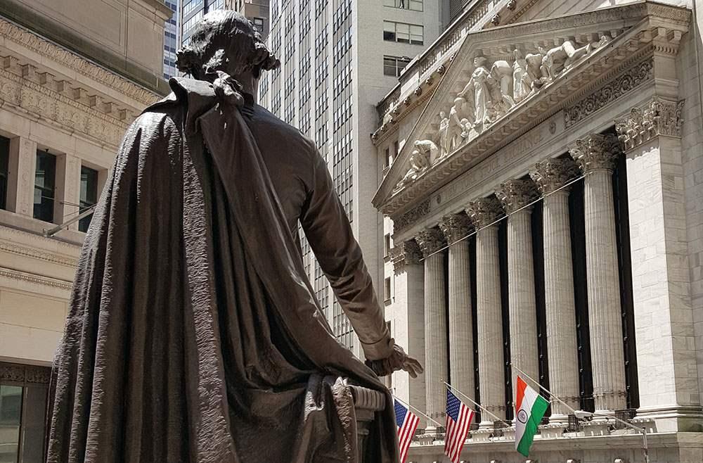 George Washington on Wall Street