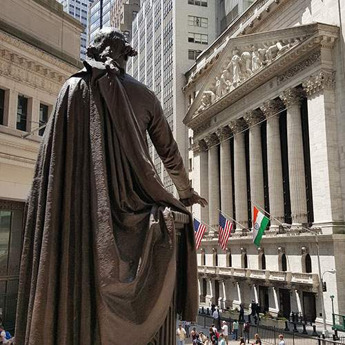 George Washington on Wall Street