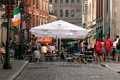The street scene on Stone Street
