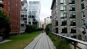 Interesting views on the High Line