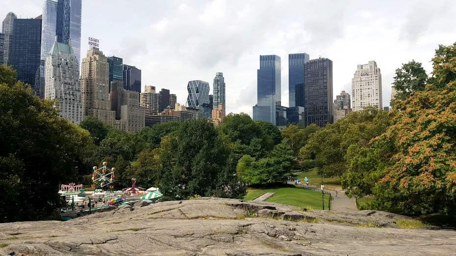 Manhattan Schist in Central Park