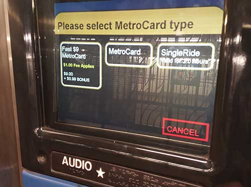 Metrocard Type