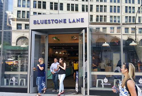 Bluestone Lane on Astor Place
