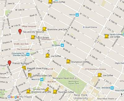 Best Coffee Shops in NYC: Manhattan Neighborhood Guide With Maps