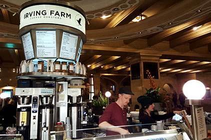 Irving Farm Roasters in Grand Central