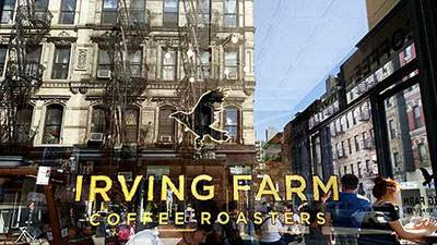 Irving Farm Coffee at 88 Orchard St