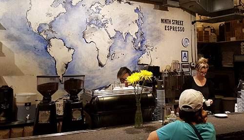 Ninth Street Espresso Inside Chelsea Market