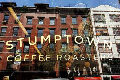 Stumptown Coffee near Washington Square