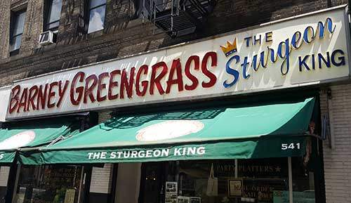 Barney Greengrass on the Upper West Side