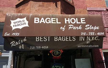 Bagel Hole in Brooklyn