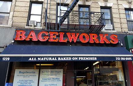 Bagel Works on the Upper East Side