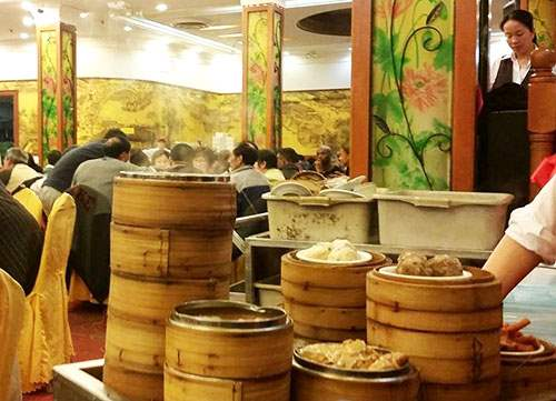 Traditional Dim Sum in Chinatown