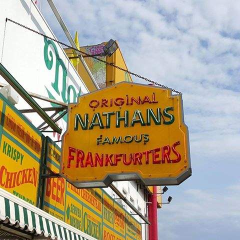 Nathan's Famous Hotdogs at Coney Island