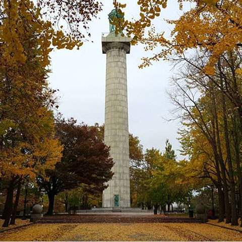 Prison Ship Martyrs' Monument in Fort Greene Park
