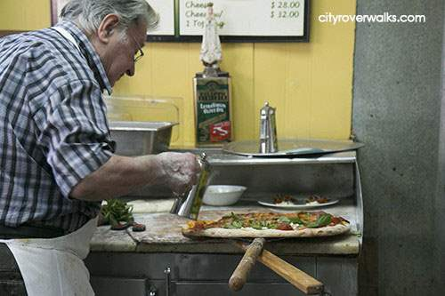 Dom and the art of making pizza