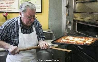 Di Fara Pizza run by Dom