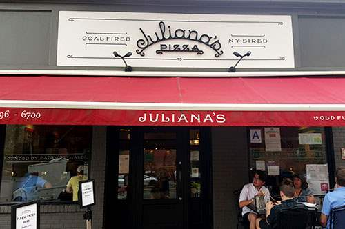 Juliana's Pizza on Old Fulton Street