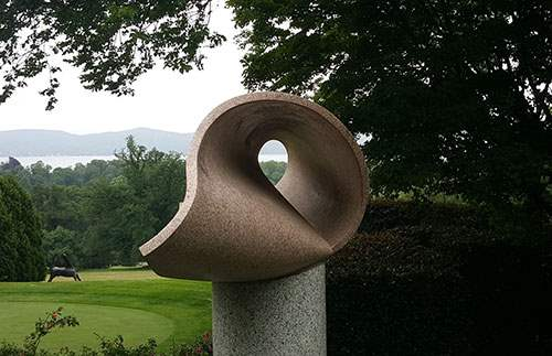 The grounds and modern art at Kykuit