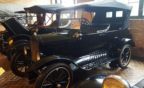 Vintage car and coach collection at Kykuit