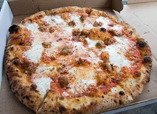 Roberta's Famous Original pizza