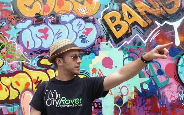 Max from CityRover Walks NY