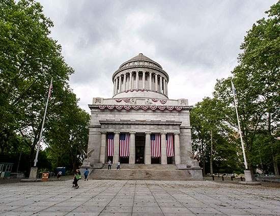 General Grant's Tomb in Morningside Heights