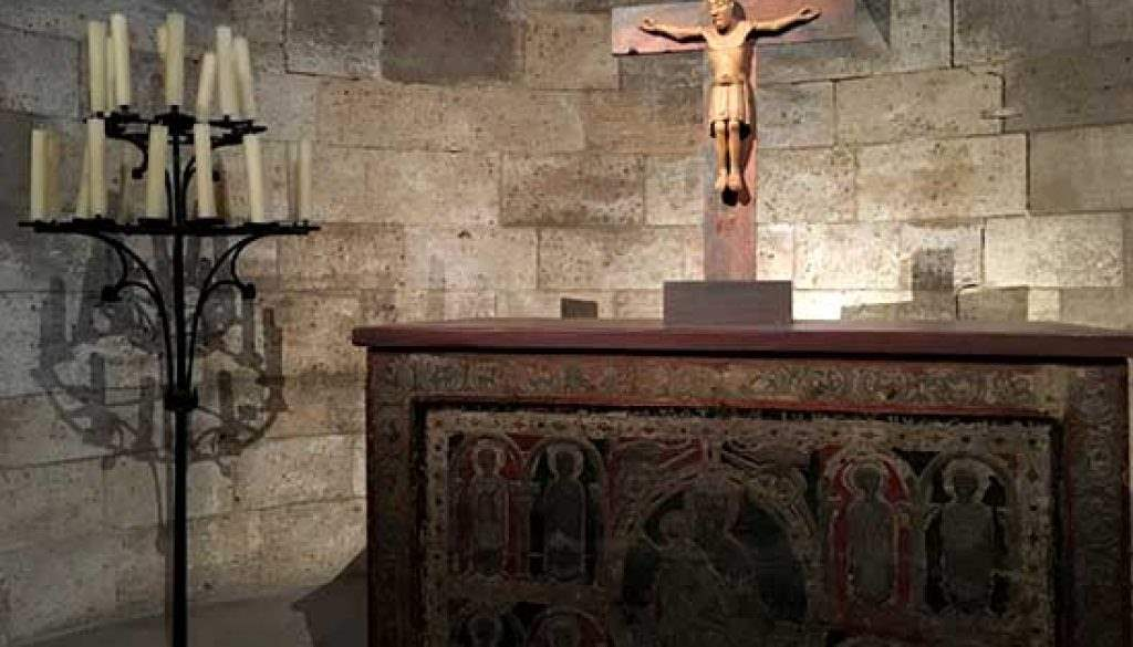 Cloisters Alter and Crucifix