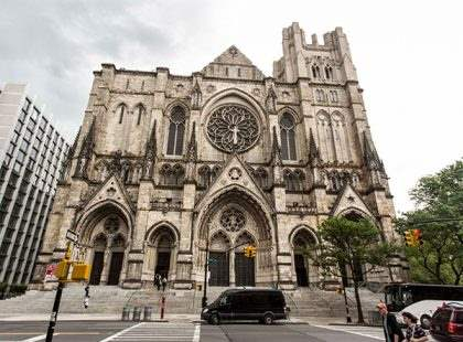 the cathedral of saint john the divinecityrover walks ny