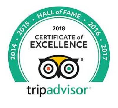 TripAdvisor Hall of Fame Badge for CityRover